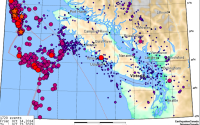 Earthquakes in the Vancouver lsland Area – past and future