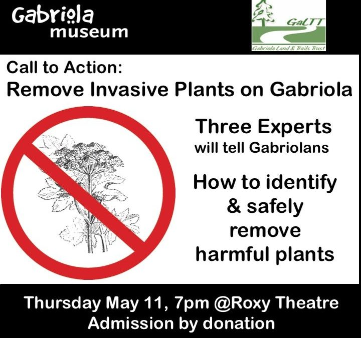 How to ID & Safely Remove Gabriola's Invasive Plants