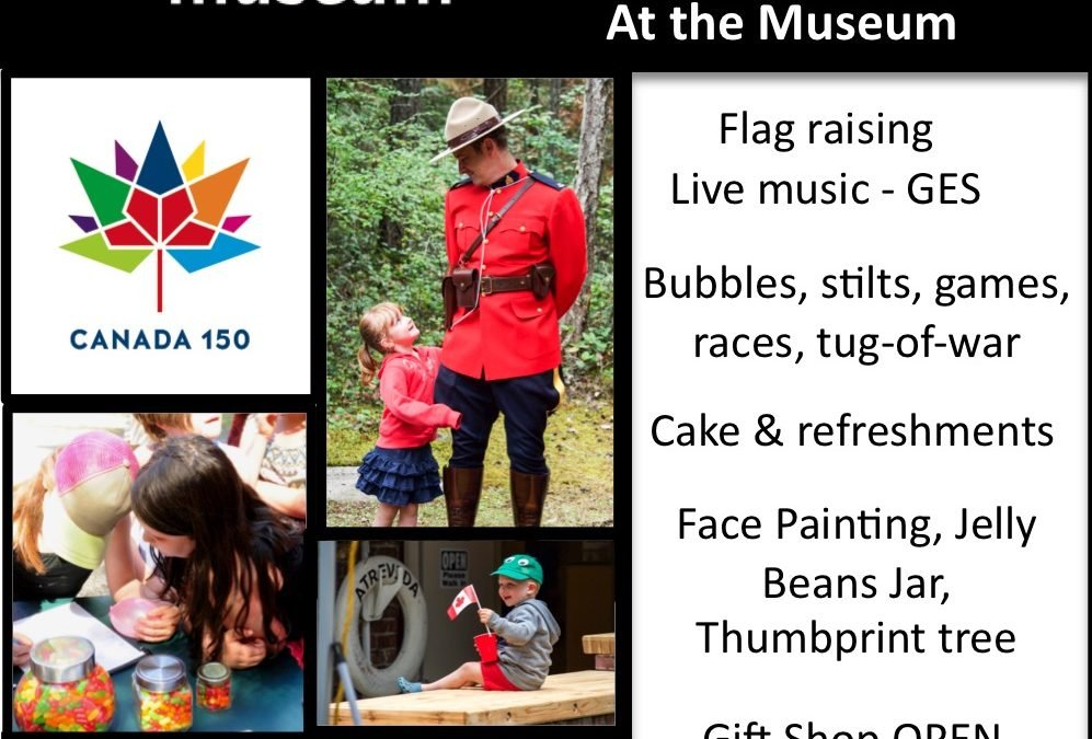 Celebrate Canada 150 at the Museum