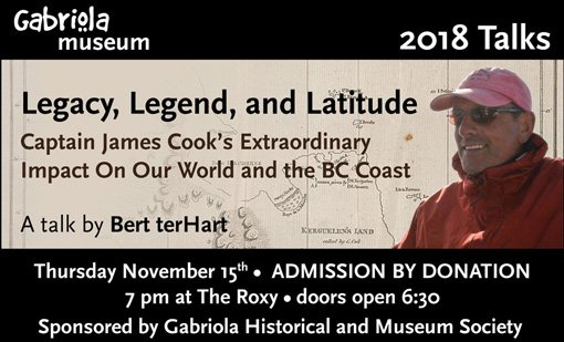 Legacy, Legend and Latitude: Captain James Cook's Extraordinary Impact on our World and the BC Coast