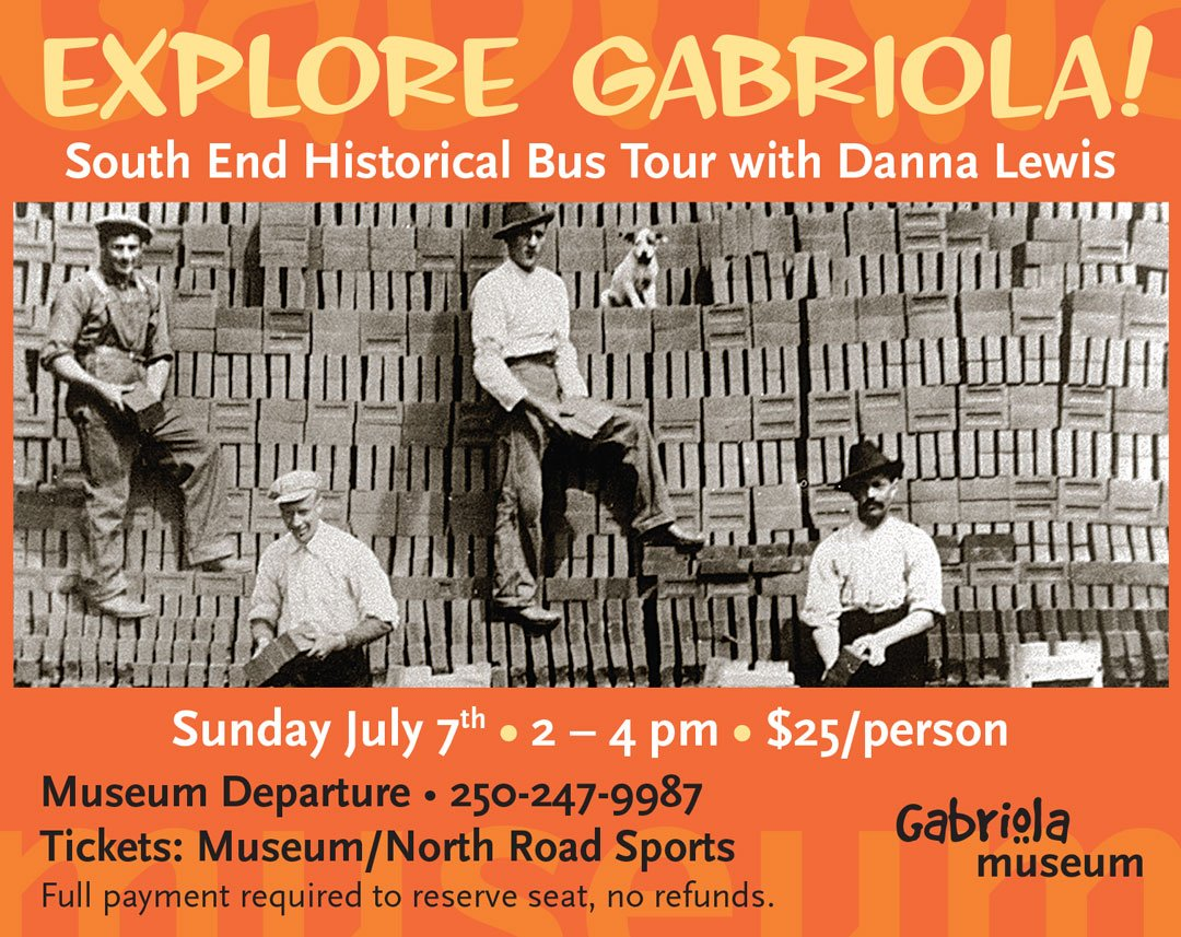 Gabriola Historical Bus South End Tour