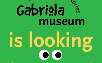 The Gabriola Museum is looking for volunteers!