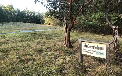 Gabriola Museum Purchases McRae property for the Community – includes public trails and a nature conservation covenant